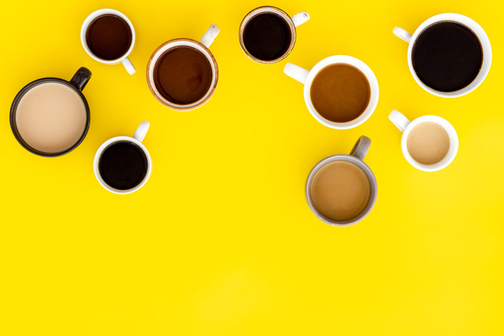 Photo of cups of coffee